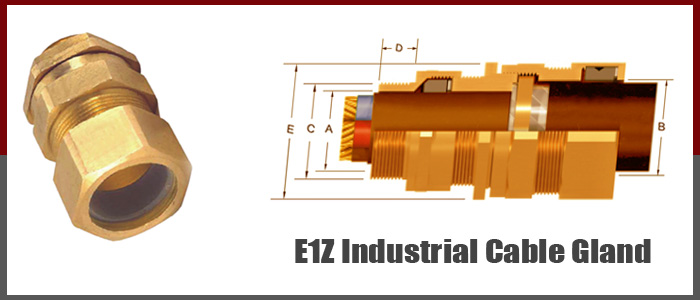 e1z industrial cable gland